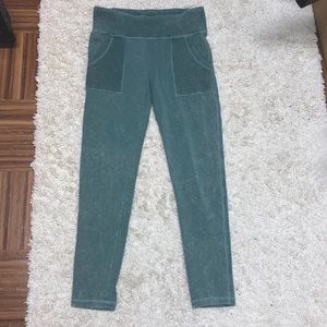 Green Marble Workout/Comfy Leggings
